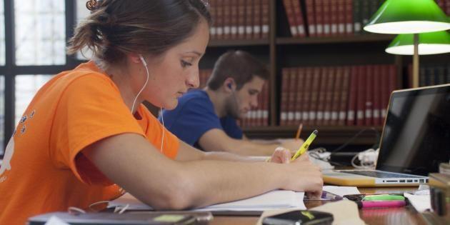 Angoissé, empâté, désespéré… c'est tout vous quand vous êtes en période d'examens. //©Penn State