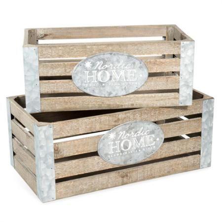 D co trop de bazar dans votre studio 10 conseils pour - Caisse bois castorama ...