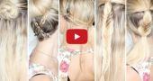 5 coiffures faciles à faire pour les cours