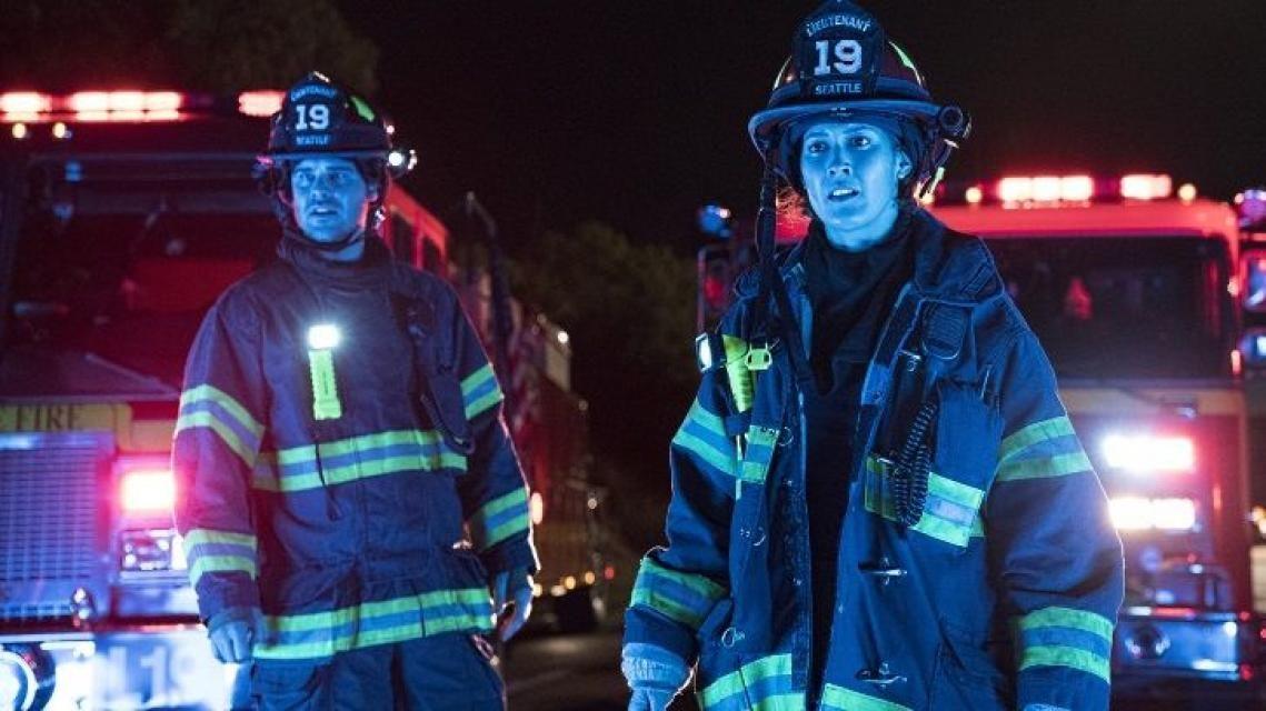 """La nouvelle série """"Station 19"""", le spin-off de Grey's Anatomy, va mettre le feu à vos écrans ! //©ABC"""