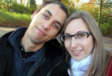 Alexandre et Melinda, lors d'un week-end en novembre 2011 aux Pays-Bas, où étudait alors la jeune fille. // © DR //©