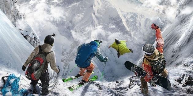 Steep, le jeu spécialement designé pour vous procurer un max de sensations ! //©Ubisoft