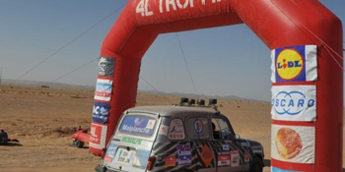 Gagnez un week-end à Marrakech pour assister à l'arrivée du légendaire 4L Trophy