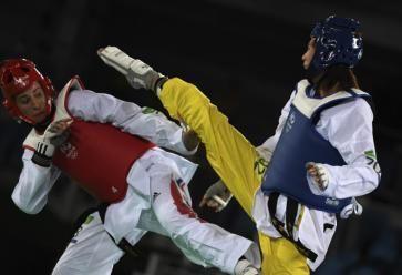 Le taekwondo, un sport parfait pour se défouler. //©REA / Han Yuking