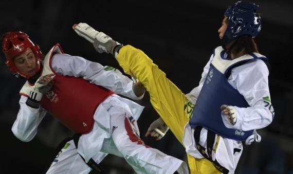 Le taekwondo, un sport parfait pour se défouler.