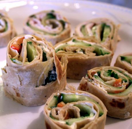 Top 5 des recettes pour un apéro végétarien , Wraps