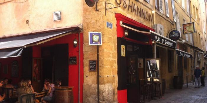 Le O'shannon : la pinte coûte seulement 3,50 € en happy-hour // © DR