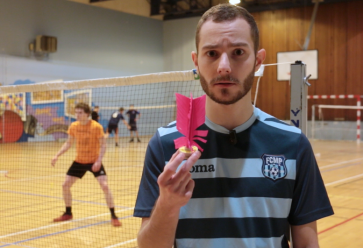 Entre badminton et volley, un sport qui pourrait vous plaire. //©l'Etudiant Trendy