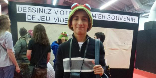 Looks d'étudiants à la Paris Games Week - WalidWalid, 17 ans, en terminale S
