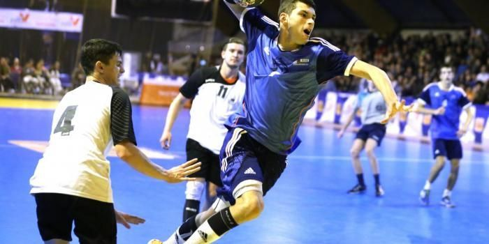 Kyllian Villeminot, future star de l'équipe de France de handball.