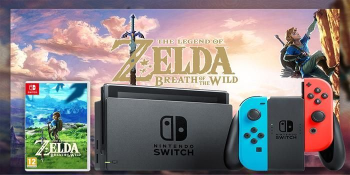 Gagnez votre Nintendo Switch et le jeu Zelda !