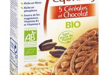 1-Équilidéj' aux 5 céréales et chocolat 2,92 chez Bjorg //©Bjorg