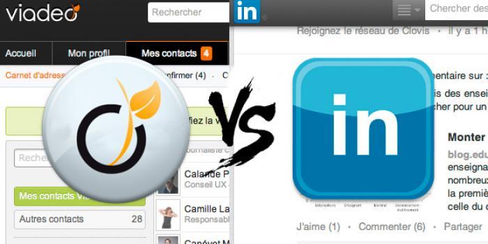 Viadeo ou LinkedIn : lequel privilégier pour créer votre CV en ligne ?