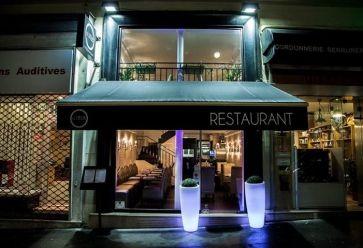 Les étudiants sont accueillis dans une ambiance lounge. //©1818 Restaurant