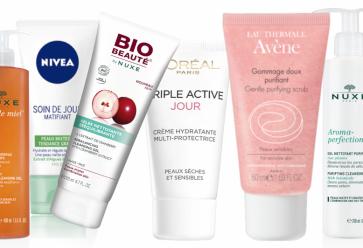 Crèmes, gels lavants, masque, gommage : trouvez le produit qui vous va ! //©Montage l'Etudiant/Trendy
