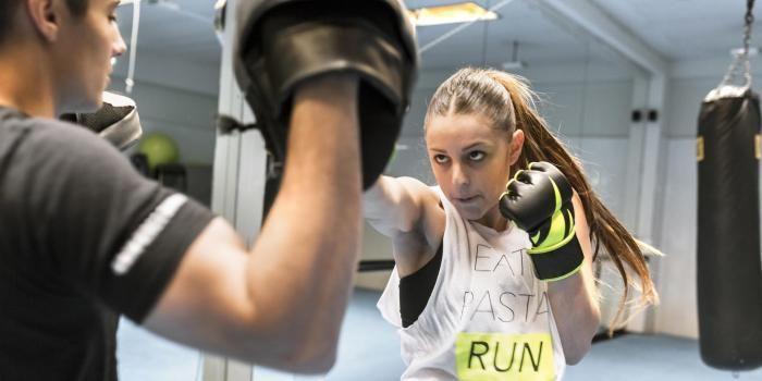 Rien de tel qu'une bonne séance de boxe française pour évacuer votre stress