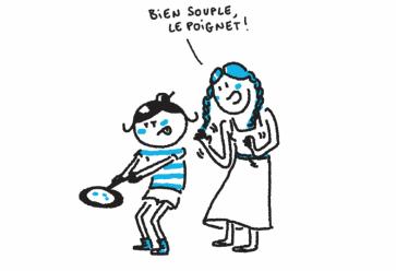 Anne, des années d'expertise sur la galette ! //©Éditions Nomades