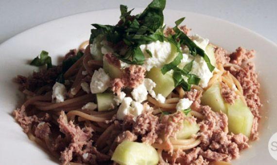 kitchenette recette de la salade de p 226 tes au bl 233 complet l etudiant trendy