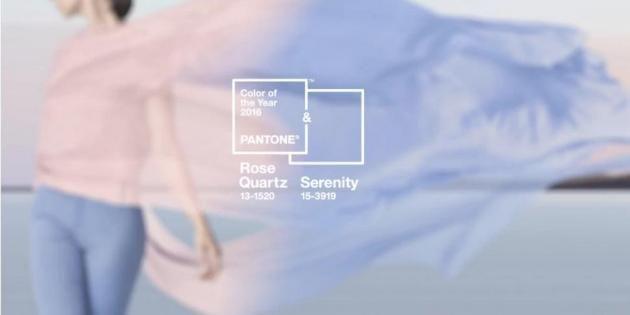 Rose Quartz, Serenity… les couleurs à adopter cette année au lycée //©Pantone