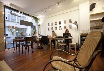 L'AntiCafé, rue Quincampoix, Paris. ©INSIDE 360. //©
