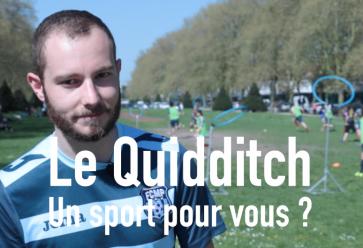 Pour les fans d'Harry Potter, de sports collectifs, bref le Quidditch, c'est pour tout le monde ! //©l'Etudiant Trendy