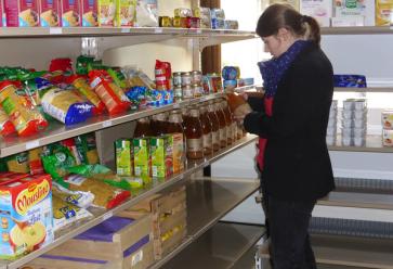 Les produits disponibles à la vente dans les Agoraé essaient de s'adapter aux besoins des étudiants. //©Fage