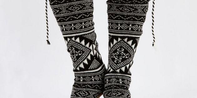 6. Chaussettes ethniques