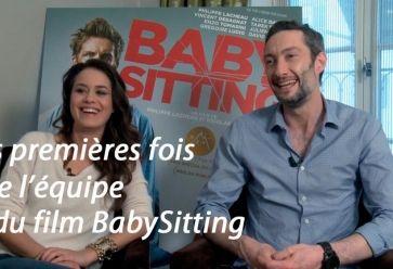 premieres-fois-equipe-film-babysitting //©