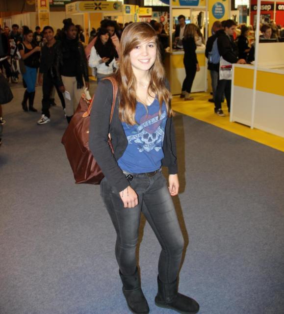 Looks d'étudiants - Elena