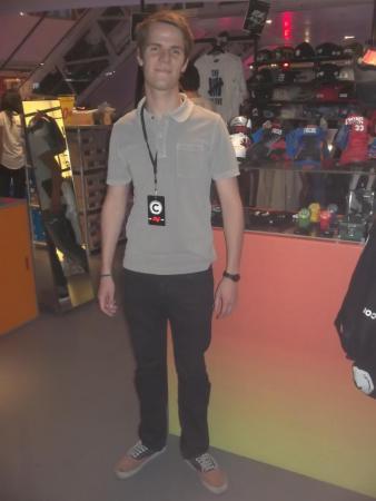Antoine 20 ans, étudiant en LEA (langues étrangères appliquées) à la Sorbonne