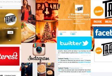 reseaux-sociaux-trendy-facebook-twitter-instagram-pinterest-google-plus //©