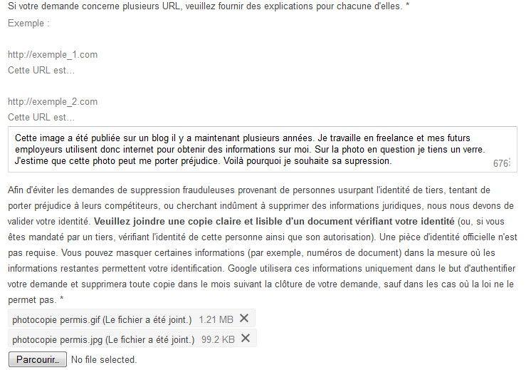 Regard Sur Le Droit C3 A0 Loubli Formulaire Droit A L Oubli De Google Jeunes Diplomes On