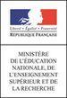 Ministère de l'Education nationale, de l'Enseignement supérieur et de la Recherche.