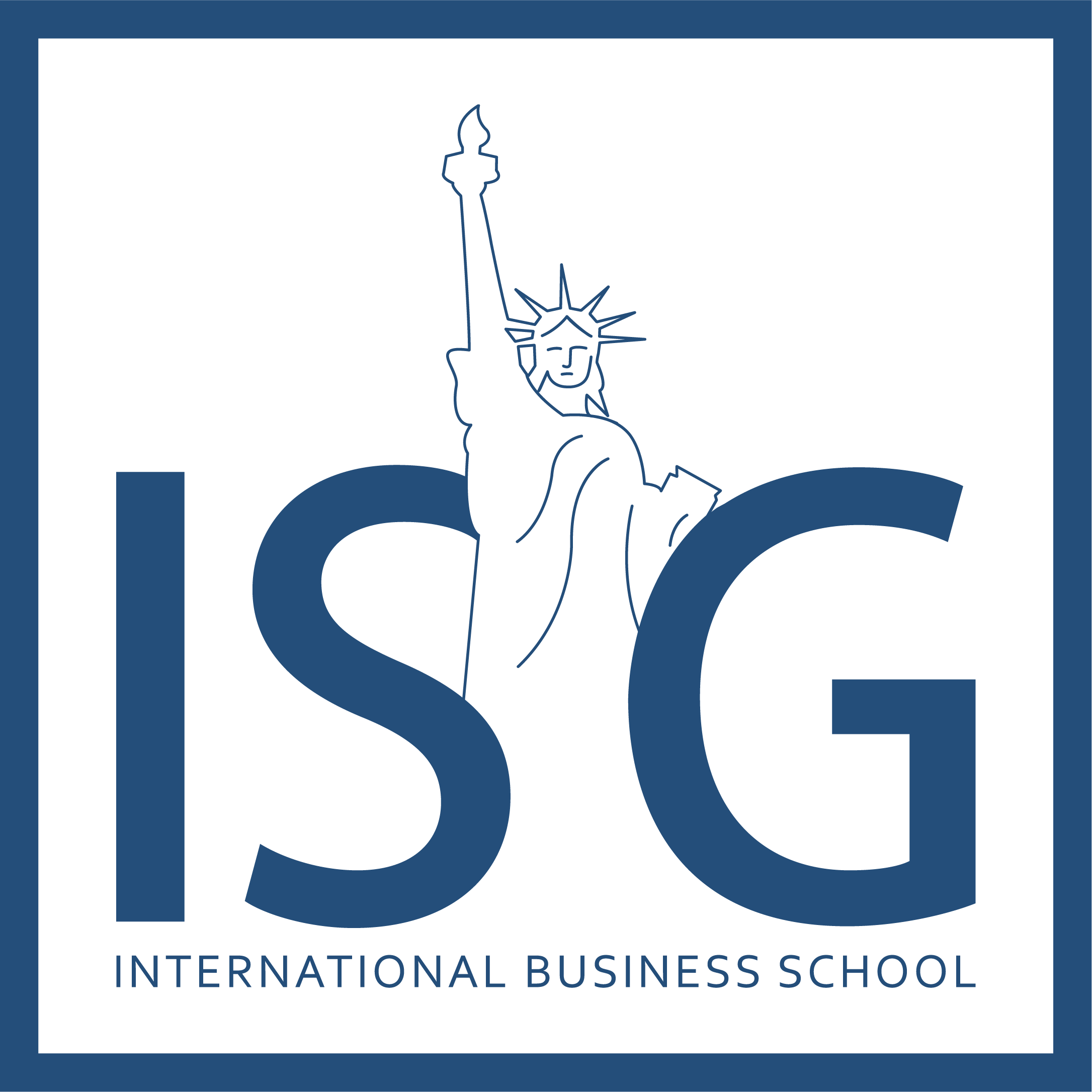 Logo de ISG - International Business School
