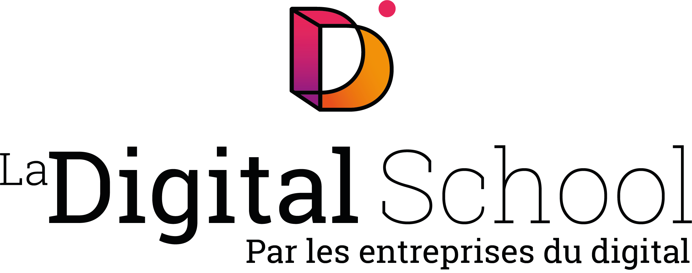 Logo de LA DIGITAL SCHOOL BREST