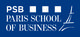 Logo de PSB Paris School of Business
