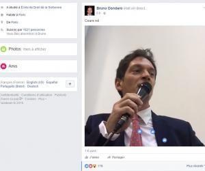 Un prof de droit donne des cours en direct sur Facebook