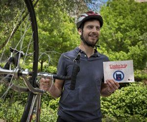 Dimitri Pleplé : un tour de France à vélo pour faire connaître les usines