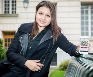 Maëva Bayou a créé une appli qui permet de trouver sonjobétudiant