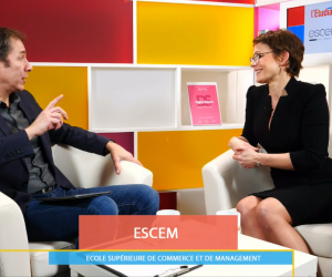 Facebook Live avec l'ESCEM - Business & digital school
