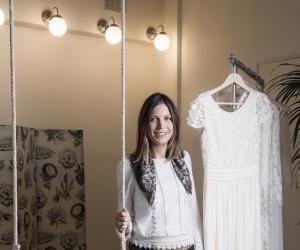 Les 20 ans de Laure de Sagazan : comment elle est devenue créatrice de robes de mariée