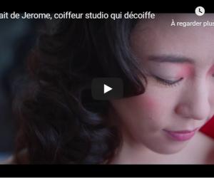 Le portrait de Jerome, coiffeur studio qui décoiffe