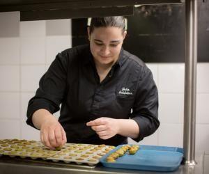 Julia Sedefdjian, la plus jeune chef d'un restaurant étoilé