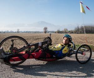 Ironman en fauteuil, il dépasse ses limites