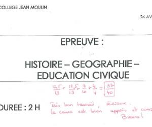 Brevet 2015 : réussir l'épreuve d'histoire-géographie-éducation civique