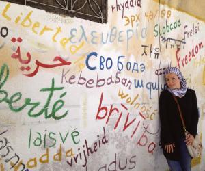 Elle forme des Syriens au journalisme