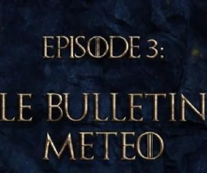 Game of talks: le bulletin météo