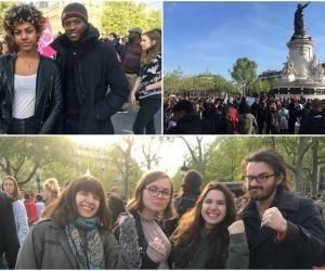 """Contre le FN, ils ont fait le déplacement : """"Il va y avoir du mouvement dans les universités !"""""""