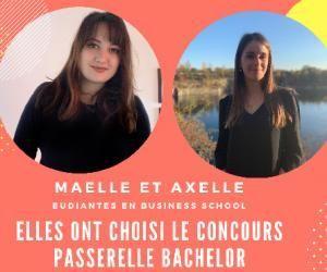Elles ont passé le concours Passerelle Bachelor : Maëlle et Axelle témoignent