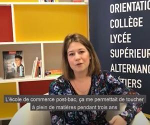 Adélaïde, étudiante en école de commerce, raconte son parcours